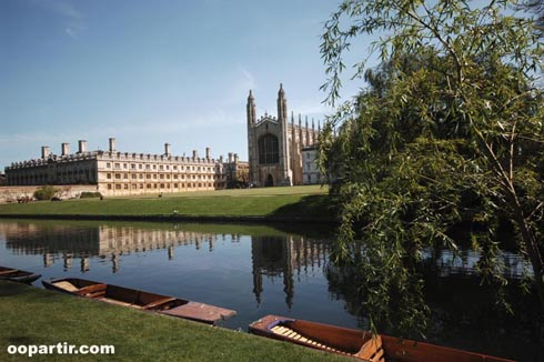 King's College, Cambridge ©VisitBritain