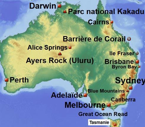 Australie - Reportage Carnet voyage Australie Sydney