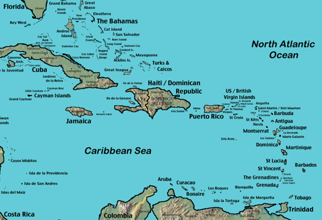 the continent including location of haiti with Iles Caraibes 1 330 on Posts besides Travel Maps Of The World also Map Of North And South America likewise Map 16 Carte Du Monde Noms Originaux Des Pays additionally Americas.