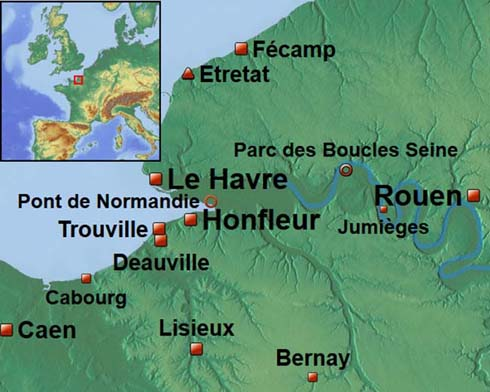 France basse normandie reportage carnet voyage week - Office du tourisme de deauville trouville ...