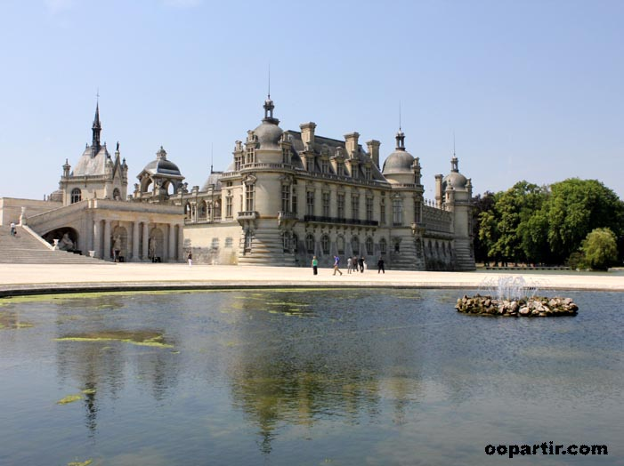 Château de Chantilly © oopartir.com
