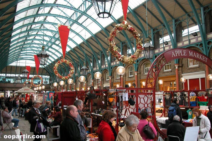 Covent Garden  © oopartir.com