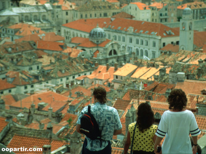 Vue sur Dubrovnik ©  Croatian National Tourist Board