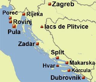 Croatie   Reportage carvoyage : Croatie, de Dubrovnik à Zagreb