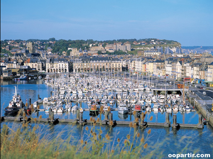 Port de plaisance, Dieppe © CRT Normandie