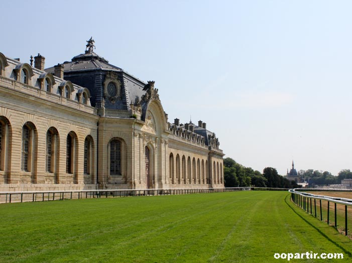 Grandes Ecuries, domaine de Chantilly © oopartir.com