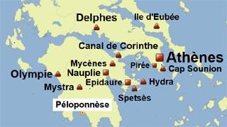 Grece (hors Crete)   Reportage carvoyage en Grèce : le