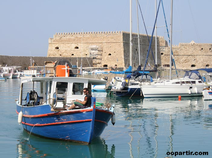 Port de Héraklion © oopartir.com
