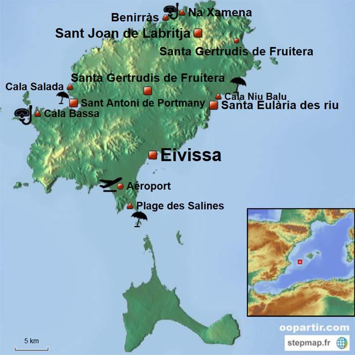 Ibiza - Carte Ibiza