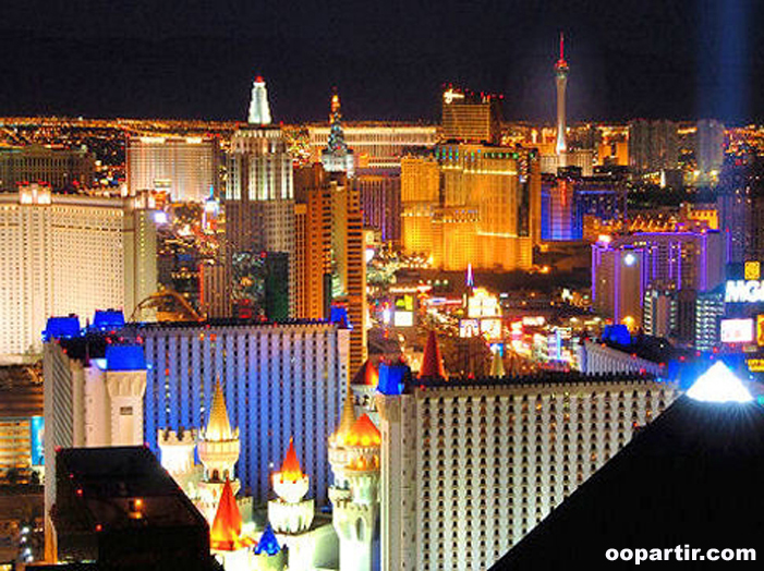 Las Vegas by night © Visit USA Committee