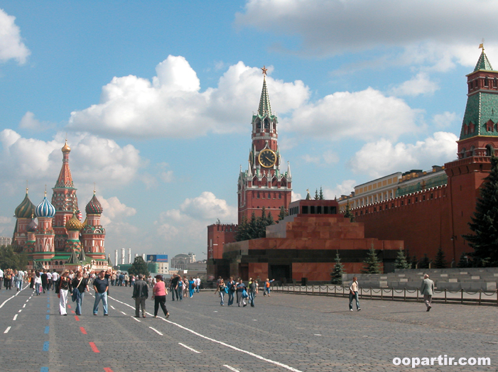 Place rouge, Moscou © oopartir.com
