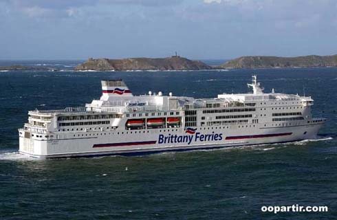 Bretagne irlande bateau