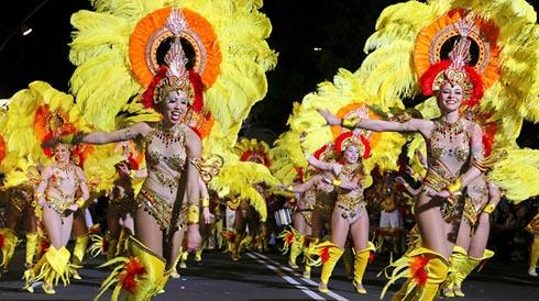 iles canaries le carnaval de tenerife