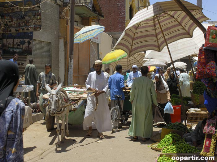 Souk, Assouan © Egyptian Tourist Authority