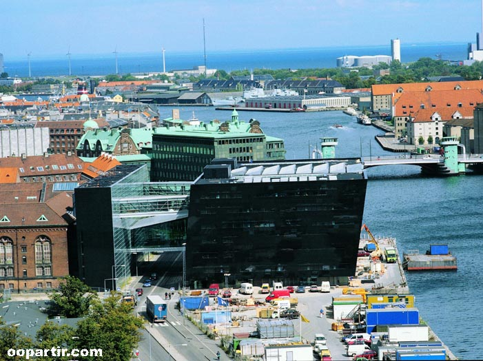 The Black Diamond, Copenhague © oopartir.com