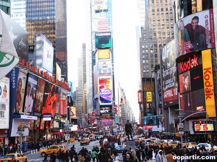 Times Square, New York © Visit USA Committee