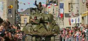D-Day festival Normandy en juin